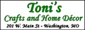 Toni's Crafts and Home Decor